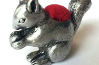 Squirrel Pin Cushion